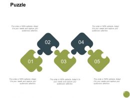 Puzzle Strategy Problem A709 Ppt Powerpoint Presentation Show Layout
