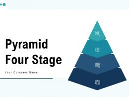 Pyramid Four Stage Customer Relationship Management Marketing Product
