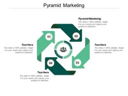 Pyramid Marketing Ppt Powerpoint Presentation Ideas Example Topics Cpb