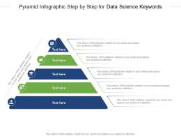 Pyramid Step By Step For Data Science Keywords Infographic Template