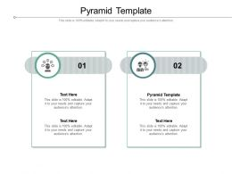 Pyramid Template Ppt Powerpoint Presentation Infographics Demonstration Cpb