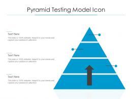 Pyramid Testing Model Icon