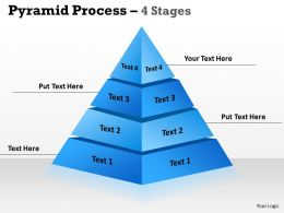 Pyramid With 4 Stages For Sales