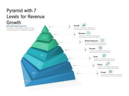 Pyramid With 7 Levels For Revenue Growth
