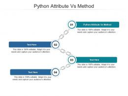 Python Attribute Vs Method Ppt Powerpoint Presentation Pictures Designs Download Cpb