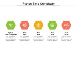 Python Time Complexity Ppt Powerpoint Presentation Infographic Template Slide Portrait Cpb