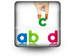 Abcd PowerPoint Icon S