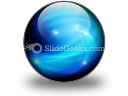 Abstract Blue Ppt Icon For Ppt Templates And Slides C