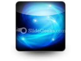 Abstract Blue Ppt Icon For Ppt Templates And Slides S