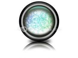 Abstract Circles PowerPoint Icon Cc