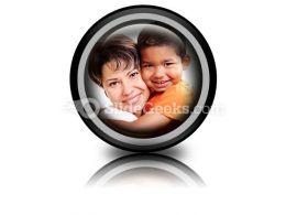 Adoptive Child PowerPoint Icon Cc