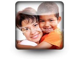 Adoptive Child PowerPoint Icon S