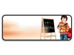 Adorable Child Studying PowerPoint Icon R