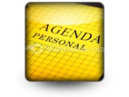 Agenda PowerPoint Icon S