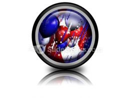 America Balloons PowerPoint Icon Cc