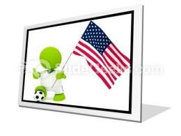 American Soccer PowerPoint Icon F