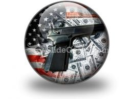 American Voilence PowerPoint Icon C
