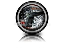 American Voilence PowerPoint Icon Cc
