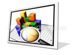 Analyzing The Data PowerPoint Icon F