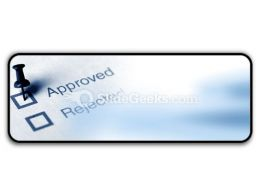 Approved PowerPoint Icon R
