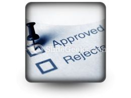 Approved PowerPoint Icon S