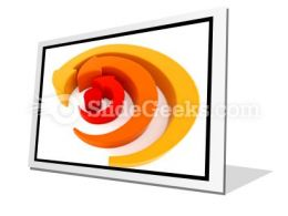 Arrows Spinning PowerPoint Icon F  Presentation Themes and Graphics Slide01