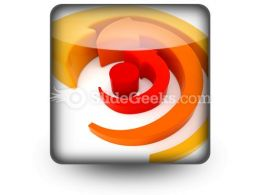 Arrows Spinning PowerPoint Icon S