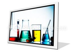 Assorted Laboratory Glassware PowerPoint Icon F