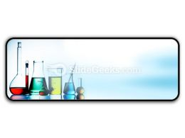 Assorted Laboratory Glassware PowerPoint Icon R