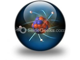 Atom PowerPoint Icon C