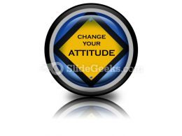 Attitude Sign PowerPoint Icon Cc
