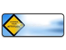Attitude Sign PowerPoint Icon R