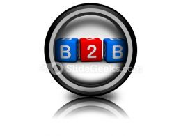 B2b PowerPoint Icon Cc