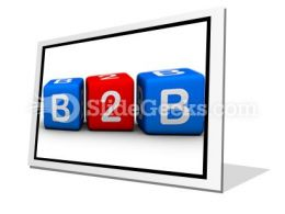 B2b PowerPoint Icon F