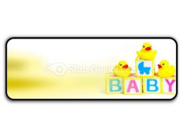 Baby PowerPoint Icon R