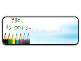 Back To School Icon R