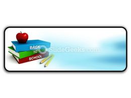 Back To School PowerPoint Icon R