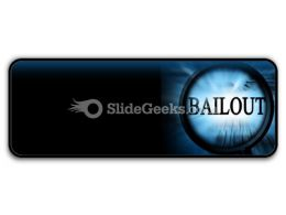 Bailout PowerPoint Icon R