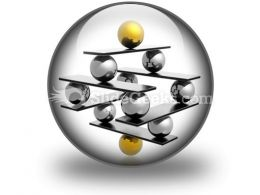 Balance01 PowerPoint Icon C  Presentation Themes and Graphics Slide01