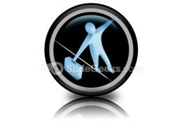 Balance PowerPoint Icon Cc