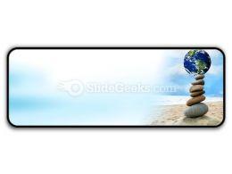 Balanced World PowerPoint Icon R