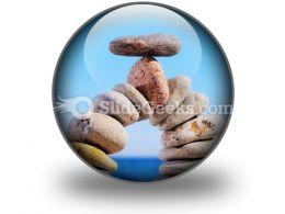 Balancing PowerPoint Icon C