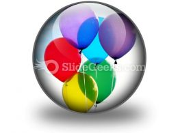 Balloons Icon C