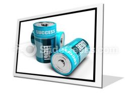 Battery Concept Energy PowerPoint Icon F