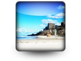 Beach01 PowerPoint Icon S
