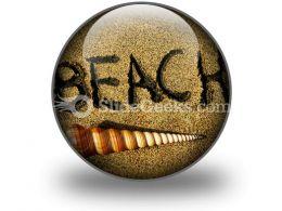 Beach PowerPoint Icon C
