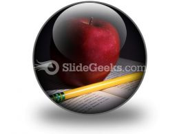 Book Apple PowerPoint Icon C