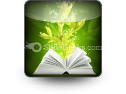 Book Of Magic PowerPoint Icon S