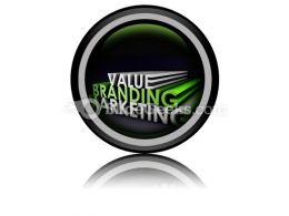 Branding And Marketing PowerPoint Icon Cc