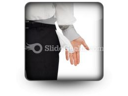 Broke Businessman PowerPoint Icon S